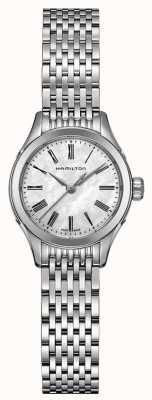 Hamilton Womans Amerikaanse klassieke dappere quartz zilver toon H39251194