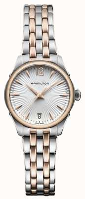 Hamilton Womans Jazzmaster kwarts two tone H42221155