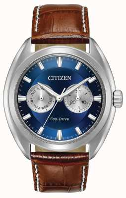 Citizen Heren eco-drive blauwe wijzerplaat paradex BU4010-05L