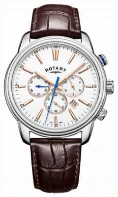 Rotary Mens monaco sport chronograaf wit GS05083/06