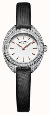 Rotary Womans petite steen set mesh zilver LS05087/02