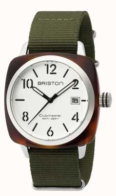 Briston Mens clubmaster klassieke acetaat hms schildpad wit 16240.SA.T.2.NGA