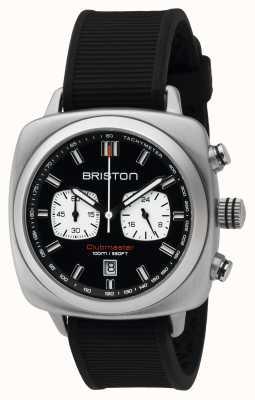 Briston Mens clubmaster sport staal chrono zwarte 16142.S.SP.1.RB