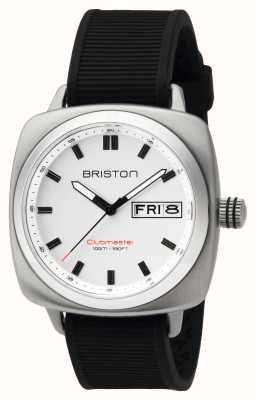 Briston Heren clubmaster sport steel hms wit 16342.S.SP.2.RB