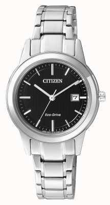 Citizen Ladies burger silhouet eco-rijden roestvrij stalen horloge FE1081-59E