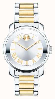 Movado Vet midsize dames Luxe two tone k1 kristal 3600245