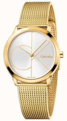 Calvin Klein Dames minimale goud getinte mesh K3M22526