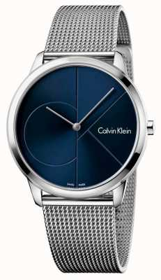 Calvin Klein Mannen minimale roestvrijstalen band K3M2112N