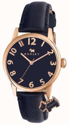 Radley Womans Liverpool Street marine lederen band RY2456