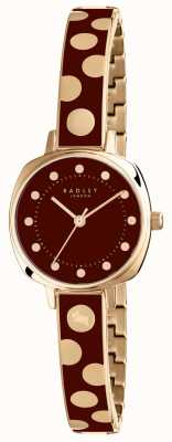 Radley Womans Kennington spot emaille bordeaux RY4274