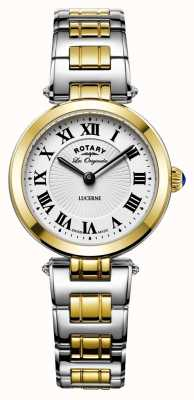Rotary Vrouwen luzerne two tone roestvrij staal LB90188/01
