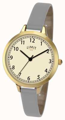 Limit Womans grijs / violet band horloge 6228
