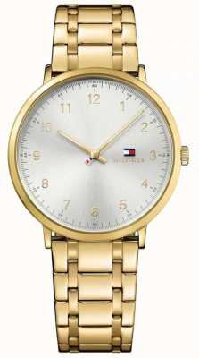 Tommy Hilfiger Mens james pvd verguld horloge 1791337