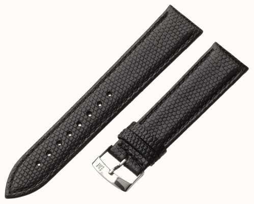 Morellato Alleen band - ibiza hagedis kalf zwart 18mm A01X3266773019CR18