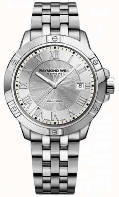 Raymond Weil Mens tango staal zilver 8160-ST-00658