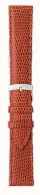 Morellato Alleen band - ibiza hagedis kalf bruin / rood 16mm A01X3266773041CR16