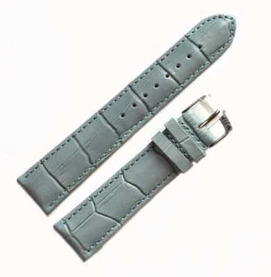 Morellato Alleen band - Samba alligator lichtblauw 20mm A01X2704656068CR20