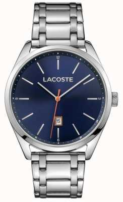 Lacoste Mens san diego navy roestvrij staal 2010912
