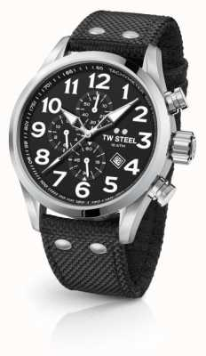 TW Steel Mens volante zwarte 45mm chronograaf VS3