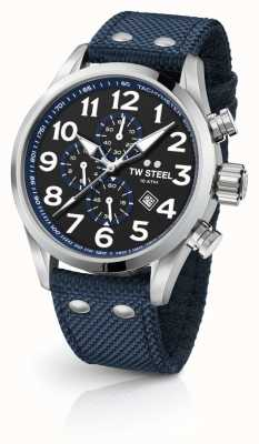 TW Steel Heren volante blauwe 45mm chronograaf VS33