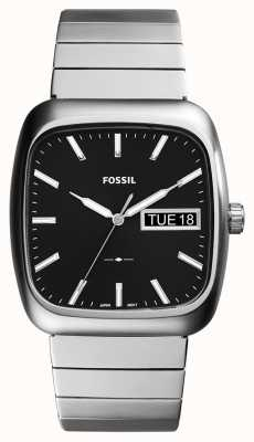 Fossil Mens rutherford zilver metaal FS5331