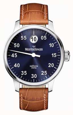 MeisterSinger Heren Classic plus salthora meta auto zonnestraal blauw SAM908