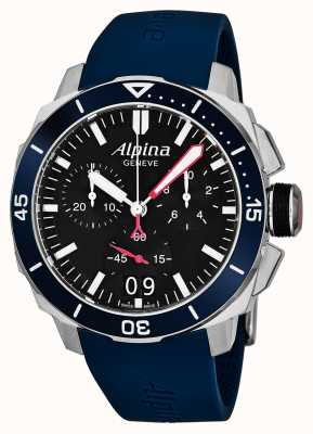 Alpina Heren Seastrong Diver 300 Big Date AL-372LBN4V6