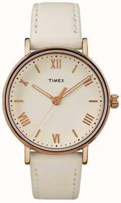 Timex Womans southview 37mm room dial roosgouden tooncase TW2R28300