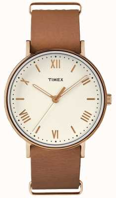 Timex Unisex Southview 41mm Room Dial Rose Gold Tooncase TW2R28800