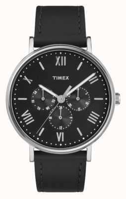 Timex Mannen Southview multifunctionele chronograaf zwart TW2R29000