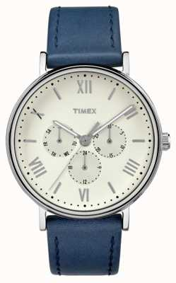 Timex Mannen Southview multifunctionele chronograaf blauw TW2R29200