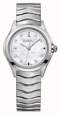 EBEL Wave vrouwen roestvrij stalen horloge 1216193