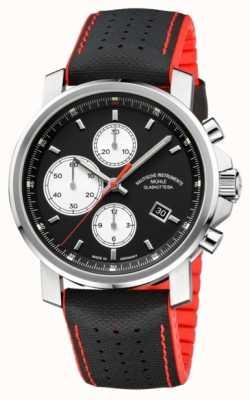 Muhle Glashutte 29er grote chronograaf automatische heren leder / rubber M1-25-43-NB