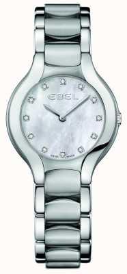 EBEL Vrouwen beluga diamant roestvrij staal 1216038