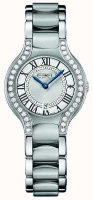 EBEL Vrouwen beluga diamant roestvrij staal 1216069