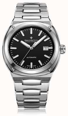 Dreyfuss Heren automatische roestvrijstalen armband DGB00154/04