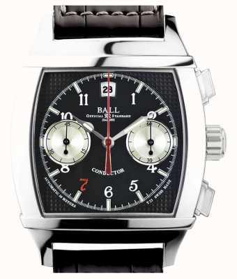 Ball Watch Company Vanderbilt zwarte dial chronograaf limited edition dirigent CM2068D-LJ-BK