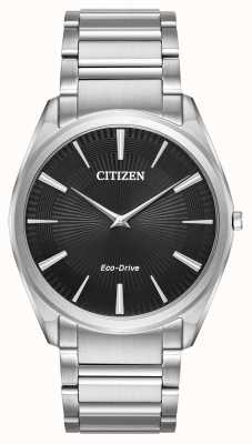Citizen Mens eco-drive stiletto ultra dun roestvrij staal AR3070-55E