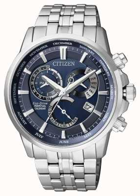 Citizen Mens eco-drive eeuwige kalender roestvrij staal BL8140-80L