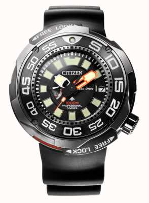 Citizen Promaster Marine 1000m Eco-Drive Divers Rubberband BN7020-17E