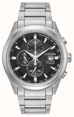 Citizen Eco-drive titanium chronograaf voor heren CA0650-58E