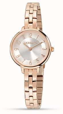 Morellato Dames petra klein rose gouden horloge R0153140510