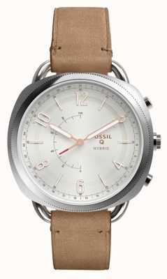 Fossil Q medeplichtige hybride smartwatch zandleer FTW1200