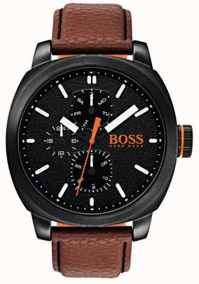 Hugo Boss Orange Mens capetown horloge zwarte wijzerplaat 1550028