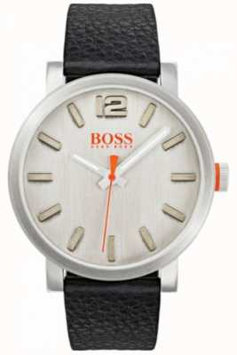 Hugo Boss Orange Mens bilbao horloge in zilver 1550035