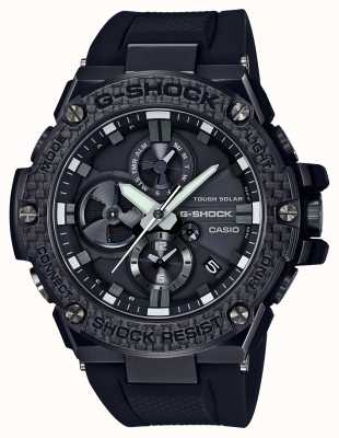 Casio Mens g-shock g-staal bluetooth triple connect carbon chrono GST-B100X-1AER