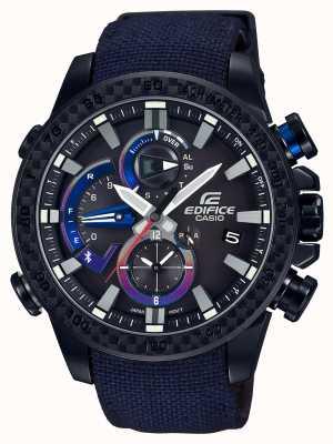 Casio Heren toro rosso bluetooth triple connect horloge EQB-800TR-1AER