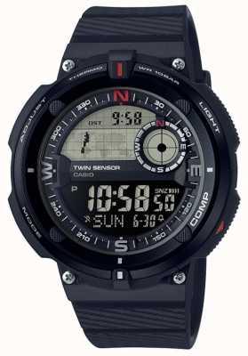 Casio Klassiek herenhorloge voor reizen in de wereld SGW-600H-1BER