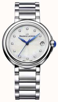 Maurice Lacroix Vrouwen fiaba 32mm diamant set horloge FA1004-SS002-170-1