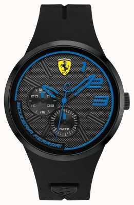 Scuderia Ferrari Mannen zwarte siliconen 0830395
